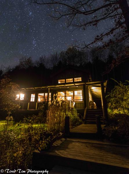 Le Canotier Under the Stars
